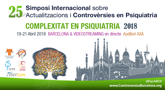 webcast 2018 Symposium Controversies Psychiatry Barcelona