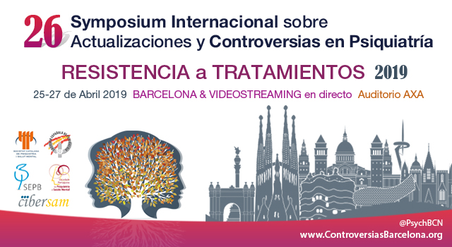Banner International Symposium Controversies Psychiatry Barcelona
