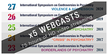 Webcasts Symposium Controversias Barcelona